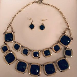 NEW LADIES NECKLACE AND MATCHING EARRINGS